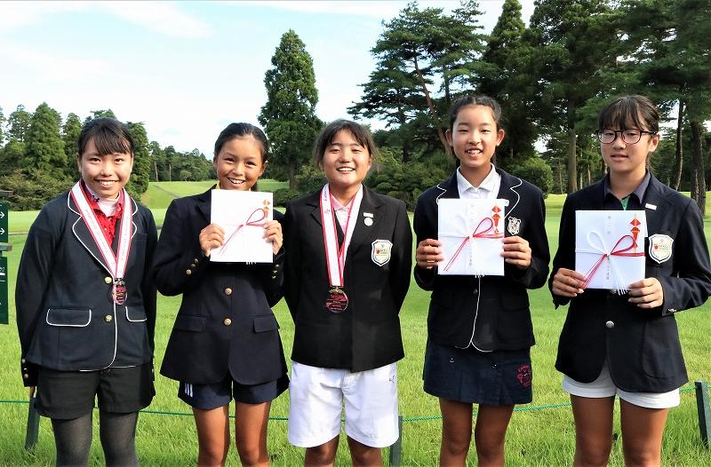 関東小学生ゴルフ大会